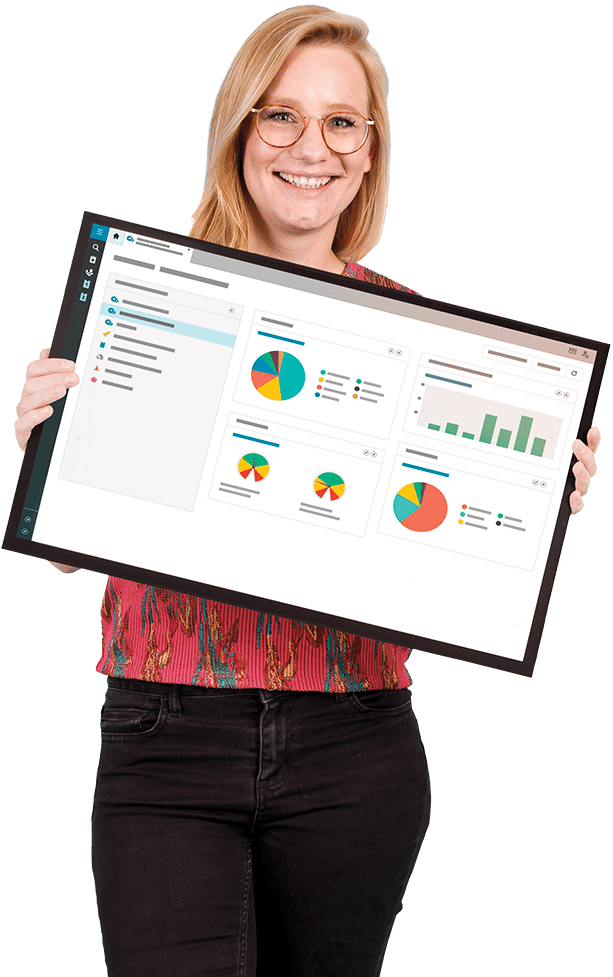 TOPdesk employee showing dashboard