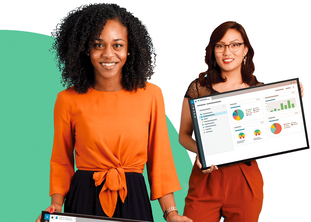TOPdesk Enterprise Service Management platform and employees