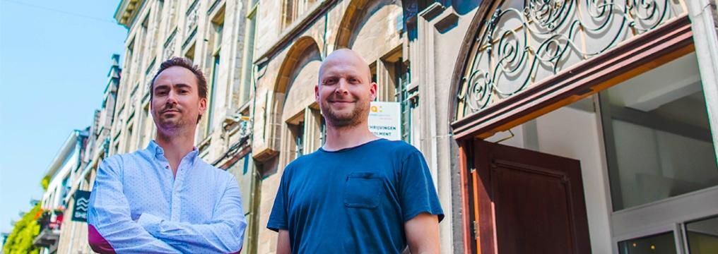 Bart Popelier en Sven Melkebeek